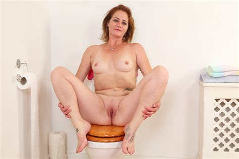 British Milf Sexy Jozie Strips And Plays On Toilet Porn 37 It