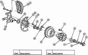1997 Ford F250 Rear Brake Diagram
