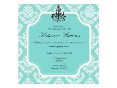 tiffany bridal shower magical printable