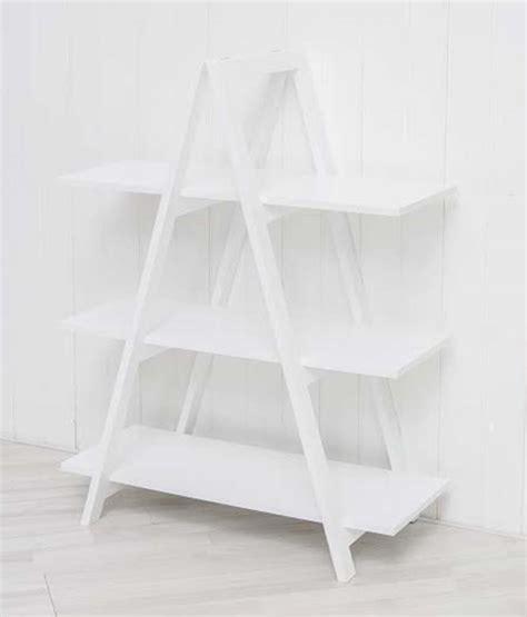 A Frame Bookcase by White A Frame Ladder Bookshelf Room Divider Shelf Unit A