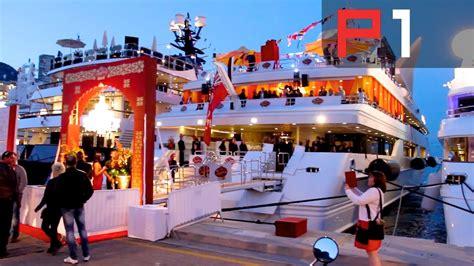 exclusive  party  biggest yacht  monaco youtube