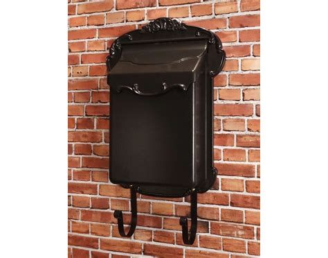 wall mount mailbox aluminum vertical wall mount mailbox 4612