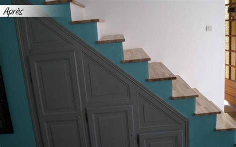 r 233 novation d escalier sur mesure le blog du bois