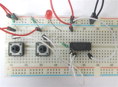 Gate Circuit Diagram Using