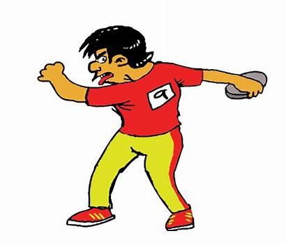 Clip Cartoon Kartun Sukan Animasi Olahraga Gambar