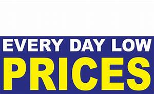 Everyday Low Prices Banners Design ID #1400   DPSBanners.com