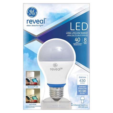 ge reveal 40 watt led light bulb target
