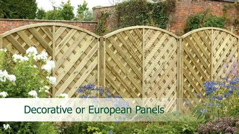 Fence Panels Explained-youtube
