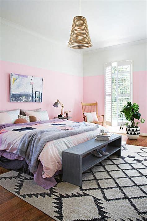 rosa wandfarbe  super schoene beispiele