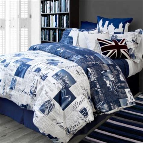 Bed Bath Beyond Duvet Cover by Buy World Cities Bedding From Bed Bath Beyond