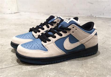 Nike SB Dunk Low Cream Blue Black Release Date - Sneaker ...