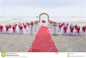 lieu mariage ile de lieu de rendez vous de mariage sur la plage photo stock image 48017050