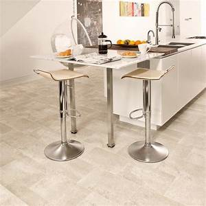 Vinylboden Fliesenoptik Küche : beige vinylboden mit fliesenoptik in einer ger umigen ~ A.2002-acura-tl-radio.info Haus und Dekorationen