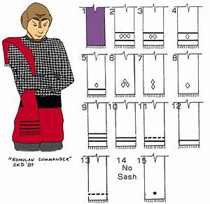 Romulan Uniforms (circa 2266-2323)