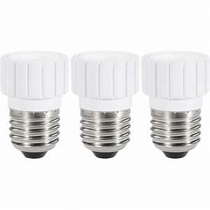 E14 Zu E27 : lampenfassung adapter e27 auf e14 3er set renkforce 97029c81a 230 v 75 w im conrad online shop ~ Markanthonyermac.com Haus und Dekorationen