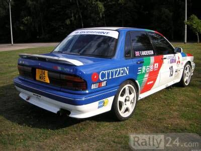 mitsubishi galant vr  works rally cars  sale