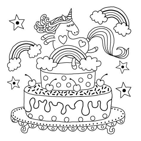 downloadable unicorn colouring page michael omara books
