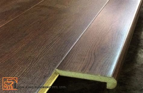 laminate flooring not flush flush stair nosing for laminate flooring
