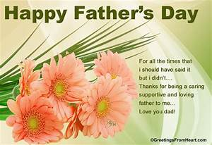 Happy Father's Day Greetings