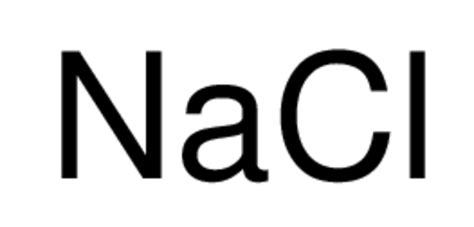 what is the chemical formula for table salt sodium chloride cas 7647 14 5 11nacl05kg mp
