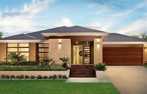 Single, Story, Modern, Home, Design, Simple, Contemporary, House