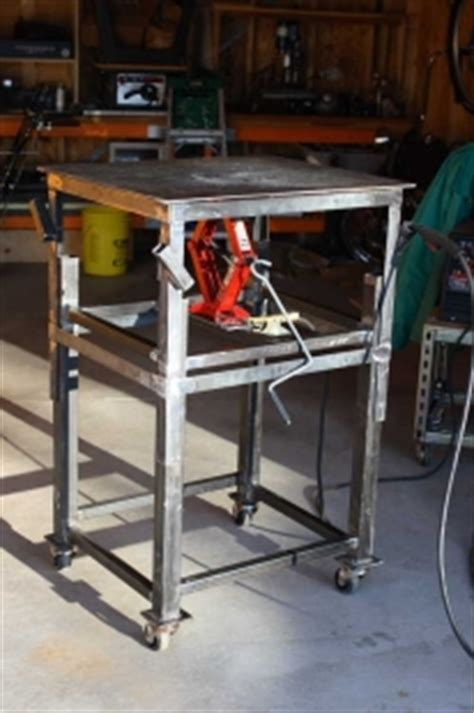 dezignito   diy workbench retractable casters