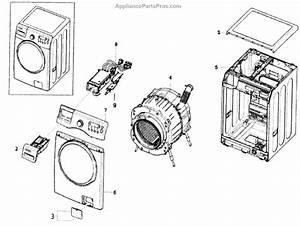 Parts For Samsung Wf350anr  Xaa-0000  Main Assy Parts