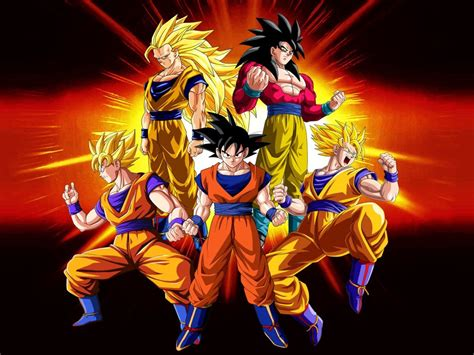 Imágenes De Goku Para Descargar Gratis Con Todos Los