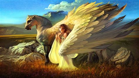 fantasy pegasus horse animal art artistic artwork