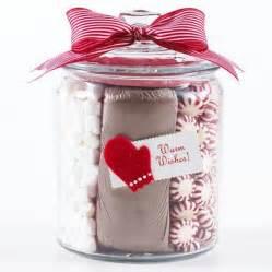hot chocolate jar gifts favors pinterest