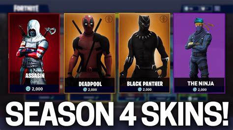 fortnite season   skins items leaked fortnite