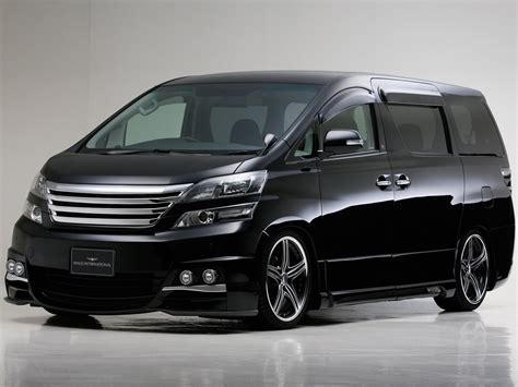 Toyota Vellfire Picture by New Toyota Vellfire 2014