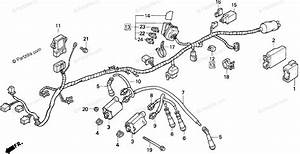 Honda Motorcycle 1997 Oem Parts Diagram For Wire Harness