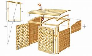 Müllbox Selber Bauen : m lltonnenbox m lltonnenverkleidung ~ Lizthompson.info Haus und Dekorationen