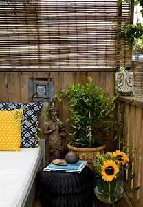 Paravent Extérieur Balcon : paravent en bambou pour le balcon id es de design feng shui ~ Teatrodelosmanantiales.com Idées de Décoration