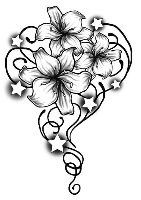 deviantART: More Like Tribal Flowers Design by - ClipArt