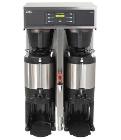 Wilbur curtis ru 600 20 coffee makers. Curtis G3 ThermoPro TP15T10A1100 Twin 1.5 Gallon Coffee Brewer