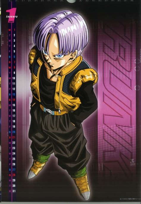 dragon ball  wallpapers teen trunks