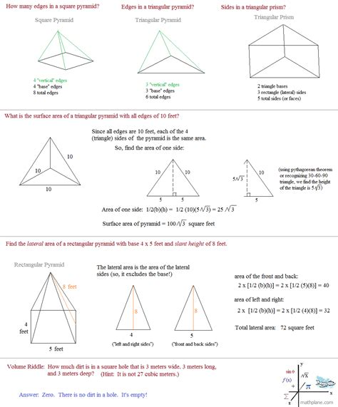 math plane geometry review 1