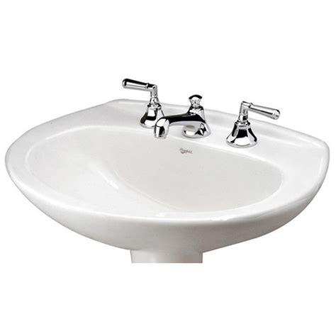 mansfield pedestal sink 293 mansfield plumbing sinks pedestal bathroom sinks
