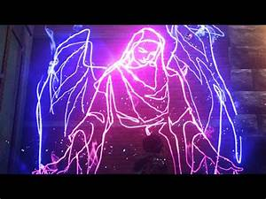 inFAMOUS First Light Showcasing All Neon Graffiti Art