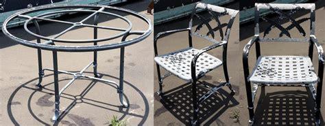 cast aluminum refinishing furniture repair clearwater