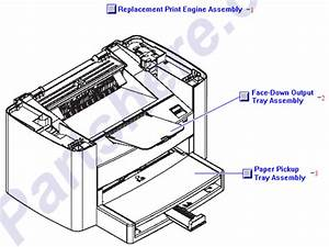 Q2666-69001 Hp Replacement Laserjet 3030