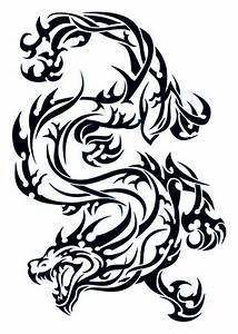 Tribal Dragon TattooForAWeek Temporary Tattoos Largest Temporary Tattoo Shop Worldwide