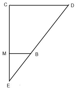 geometry side splitter theorem which sides are