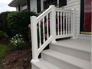 Look attractive exterior stair railing kits founder for Exterior stair railing kits