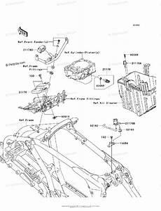 Kawasaki Atv 2008 Oem Parts Diagram For Fuel Injection