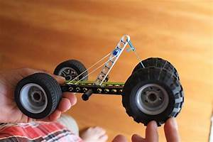 Elastic Band Cars Designs How To Make A Rubber Band Powered Car Project And Designs