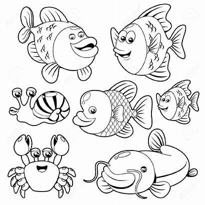 Fish Clipart Ocean Sea Creatures Animal Animals