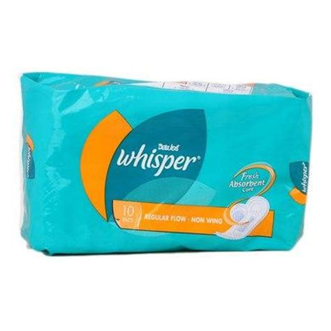 whisper pad whisper pads regular flow non wing end 1 15 2018 10 15 am
